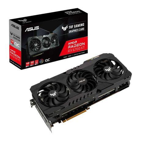 Placa de Vídeo Gaming Asus Radeon 6700XT Nova Garantia