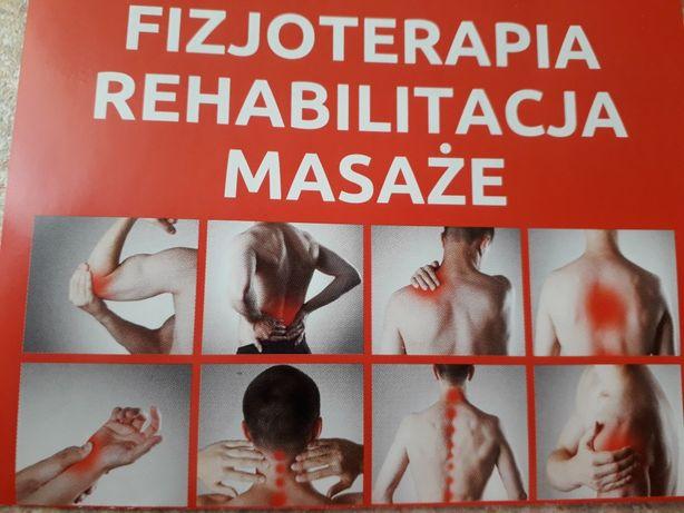 Usługi Fizjoterapii - masaże , rehabilitacja