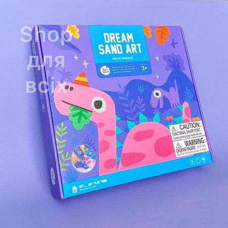 Творческий набор для рисования песком Ночные сцены Jar Melo