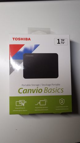 Dysk zewnętrzny TOSHIBA Canvio Basics 1TB