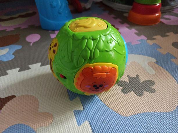 Akuku Smily Play jak Hula Kula zabawka interaktywna
