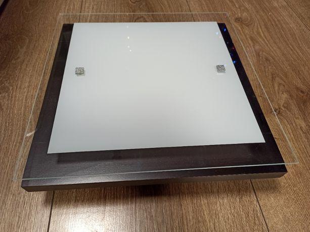 Lampa / plafon Osaka square wenge s 2x60W E27 2902 Nowodvorski