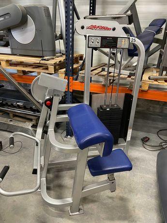 maszyna biceps curl Life Fitness