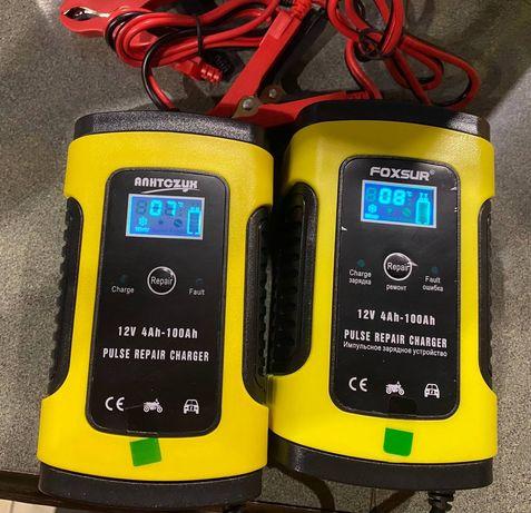 Автоматическое зарядное устройство Foxsur АКБ авто/мото аккумуляторов