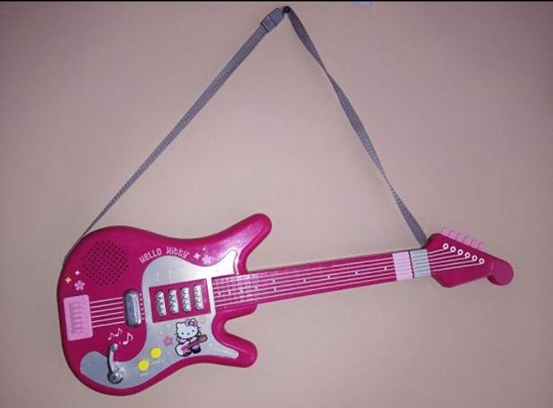 Gitara Hello Kitty