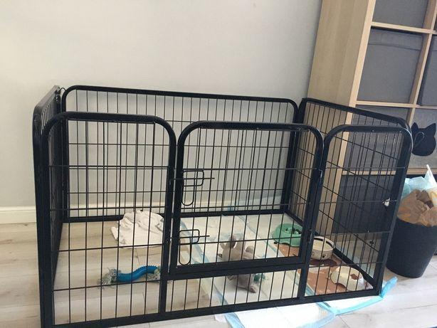 Kojec klatka zagroda dla psa szczeniaka królika
