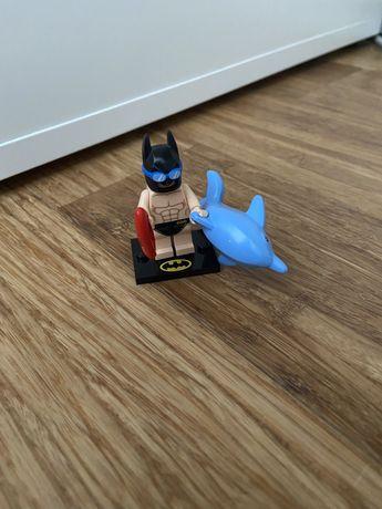 Лего бетмен из серии минифигурок.