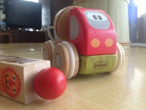 Chicco деревянная машинка