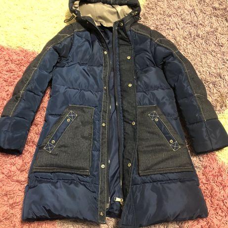Зима куртка удлиненная