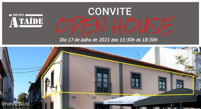 OPEN HOUSE - Moradia T14 (1ºandar+sótão) na Praça do Peixe em Aveiro