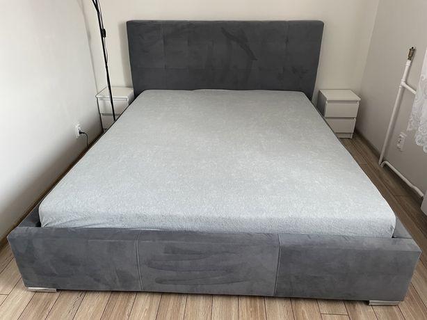 Łóżko 160x200 + stelaż + materac STAN BARDZO DOBRY! DOSTAWA!!