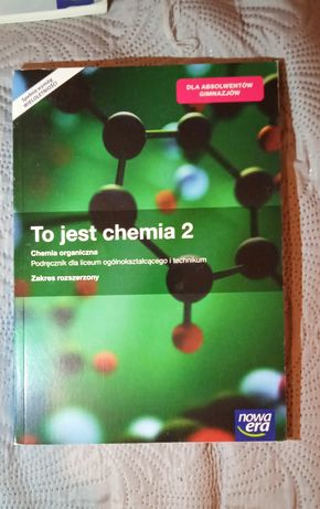 To jest chemia 2 zakres rozszerzony (po gimnazjum)