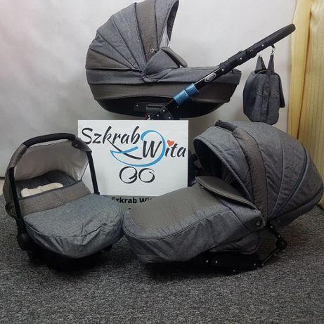 Wózek Gusio 2w1 powystawowy, nie używany bez śladów użytkowania