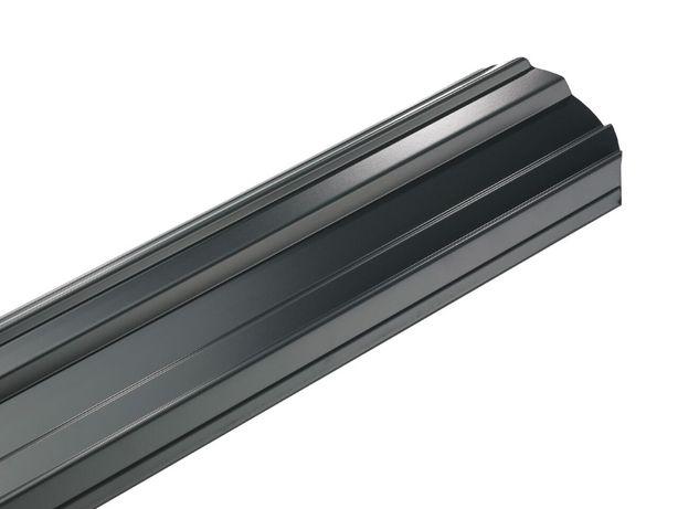 Metalowe sztachety Estetic połysk NOWOCZESNY DESIGN wzmocniony profil