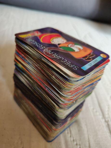 Karty Dragon Ball Chio- w opisie ogłoszenia jest lista dostępnych kart