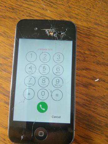 iPhone S4 uszkodzony
