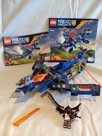 LEGO Nexo Knights 70320 komplet instrukcja bez pudełka
