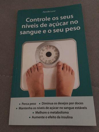 Livro Controle os seus níveis de açúcar no sangue e o seu peso