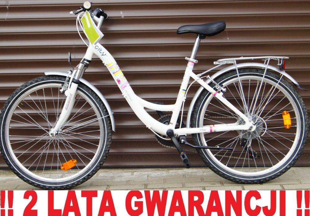 Rower młodzieżowy GO SPORT CITY 24' - Pełne wyposażenie. + GRATIS !!! Elbląg - image 1