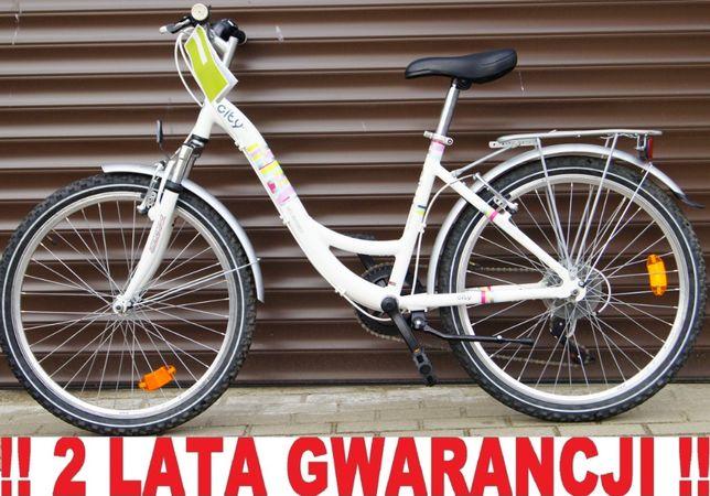 Rower młodzieżowy GO SPORT CITY 24' - Pełne wyposażenie. + GRATIS !!!