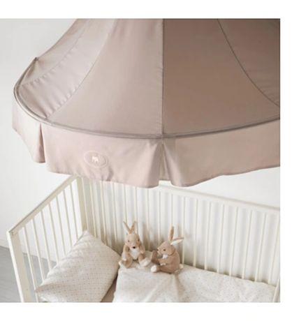 IKEA Blandachim CHARMTROLL bez beżowy słonik nad łóżeczko