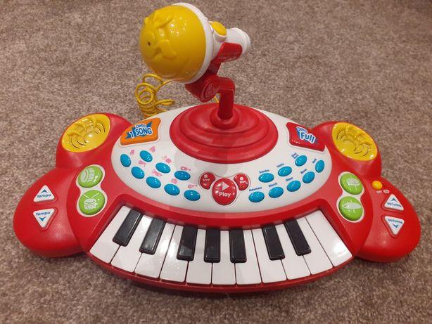Pianinko grające i cymbałki