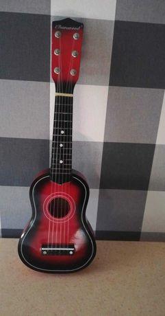 Gitara drewniana dla dzieci