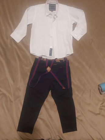 Koszula + spodnie zestaw na 92cm