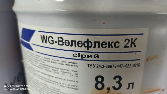 Продам фарбу WG-Welesgard за пів ціни