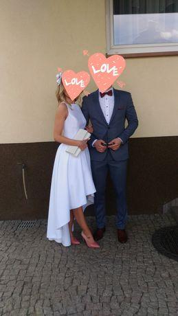 Suknia ślubna, ślub kościelny, ślub cywilny Bellissima 34/36