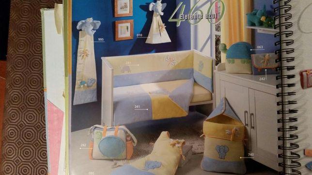 Colecção Elefante polar quarto bebé