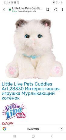 Котенок (кот, котик), интерактивный, Little live pets, Англия