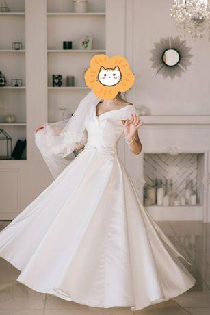 Свадебное платье комплект
