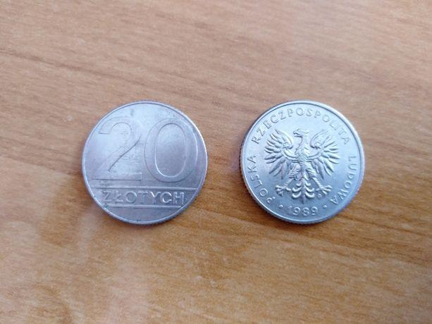 20zł 1989r. Monety