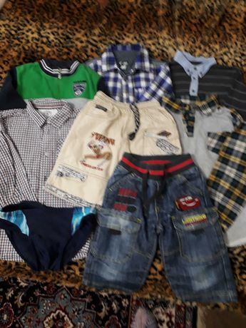 Пакет одежды для мальчика р116- 122