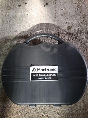 M-flare Mactronic. Dyski sygnalizacyjne białe