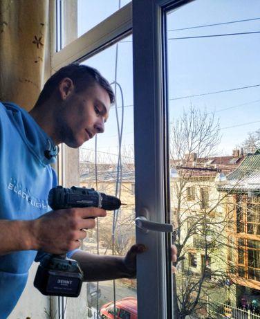 Регулювання Ремонт металопластикових вікон та дверей регулировка окон