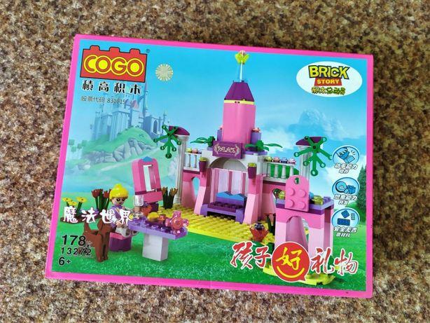 Новый Конструктор COGO Дворец для девочек Лего совместимый