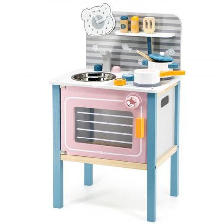 Kuchnia drewniana dla dzieci z akcesoriami Viga Toys kuchenka