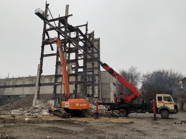 демонтаж зданий, знесення , снос аварийных домов