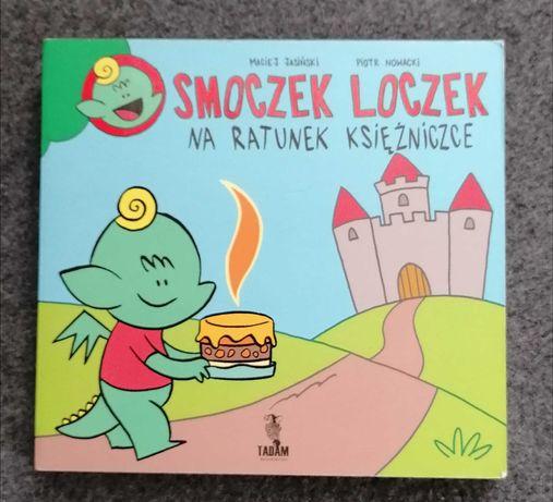 Książeczka edukacyjna dla dzieci Smoczek Loczek