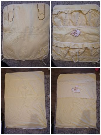 Komplet, zestaw pościeli niemowlęcej 120x60 firmy Amy