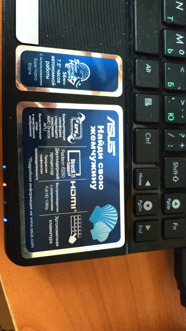 Нетбук Asus Eee PC BX10-15+ сумка