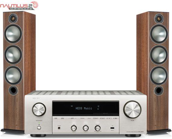 Denon DRA-800H + Monitor Audio Bronze 6 zestaw stereo amplituner