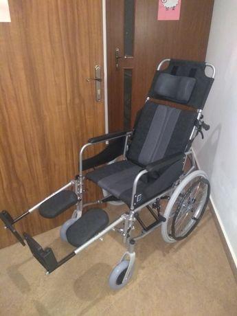 Wózek specjalistyczny aluminiowy stabilizujący plecy i głowę Timago