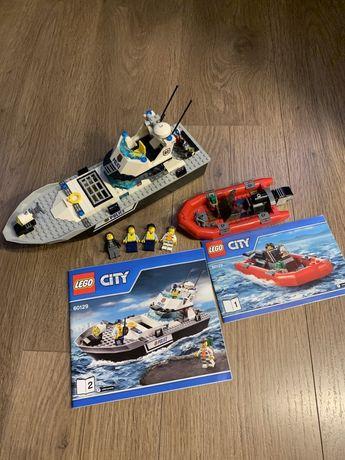 LEGO City Police Полицейский патрульный катер (60129)