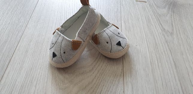 Niechodki buciki niemowlęce buty H&M, 16-17
