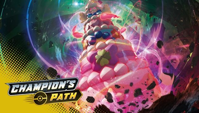 Karty Pokemon TCG Sword & Shield - Champion's Path - nowe! Full Art!