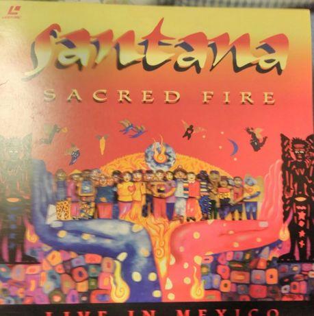 Santana Sacred Fire Laser Disc