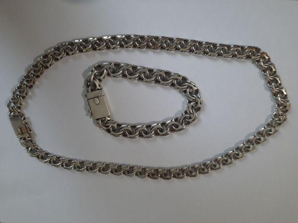 Продам серебряную цепь (103 грама). Торг